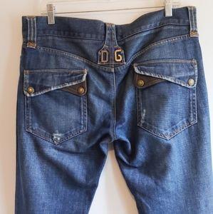 DOLCE & GABANNA jeans black runway label